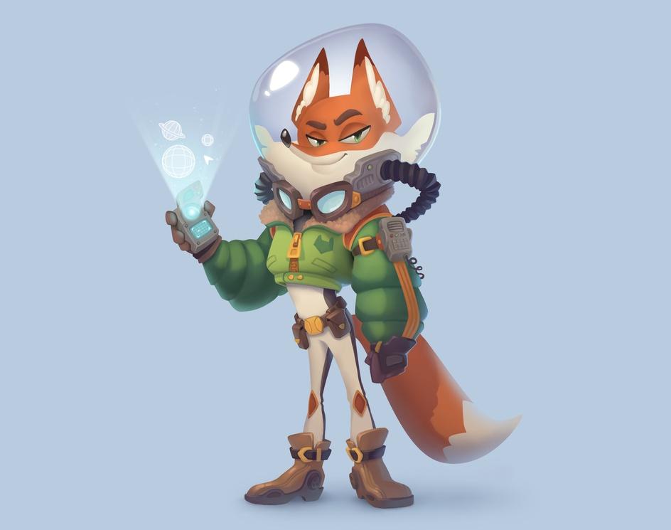 3dtCDC - Fox Space-Force Aviatorby Stacy Frantsek