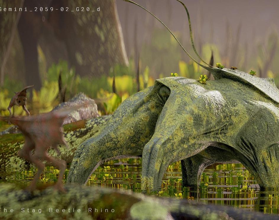 Stag Beetle Rhinoby Christian Grajewski