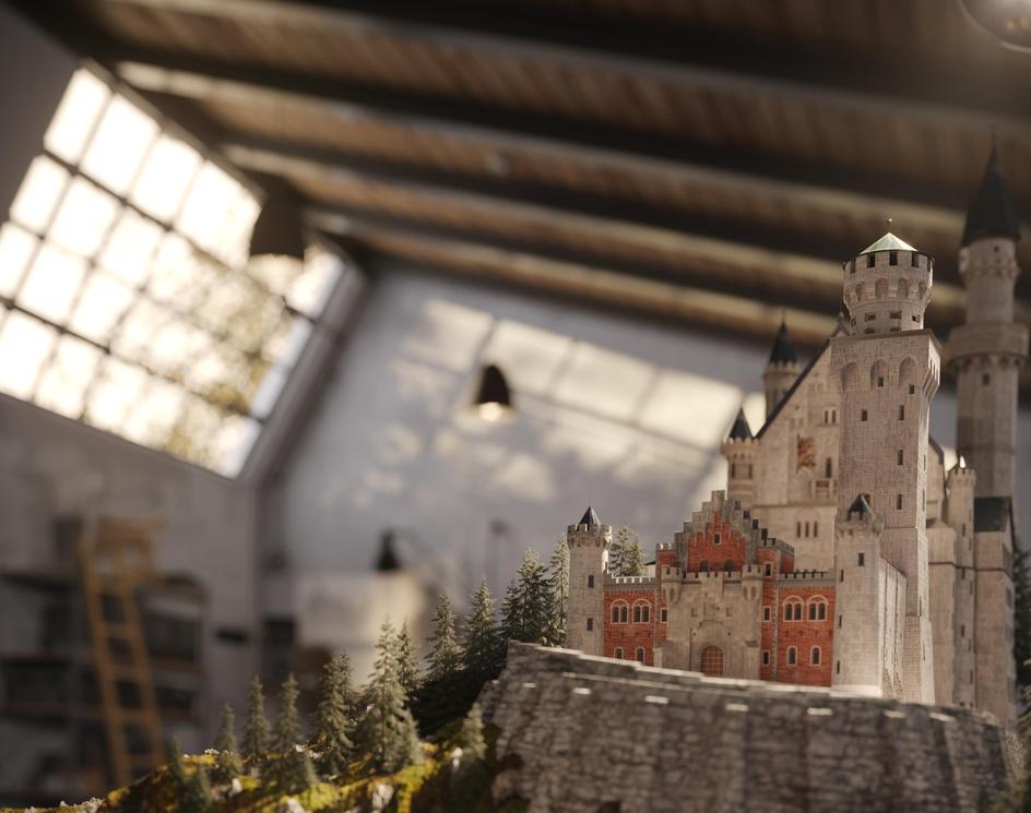 neuschwanstein castleby Sara alipour