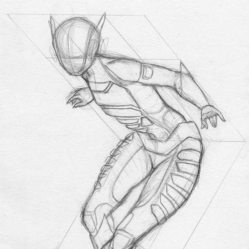 concept, sketch, spacesuit, suit, futuristic