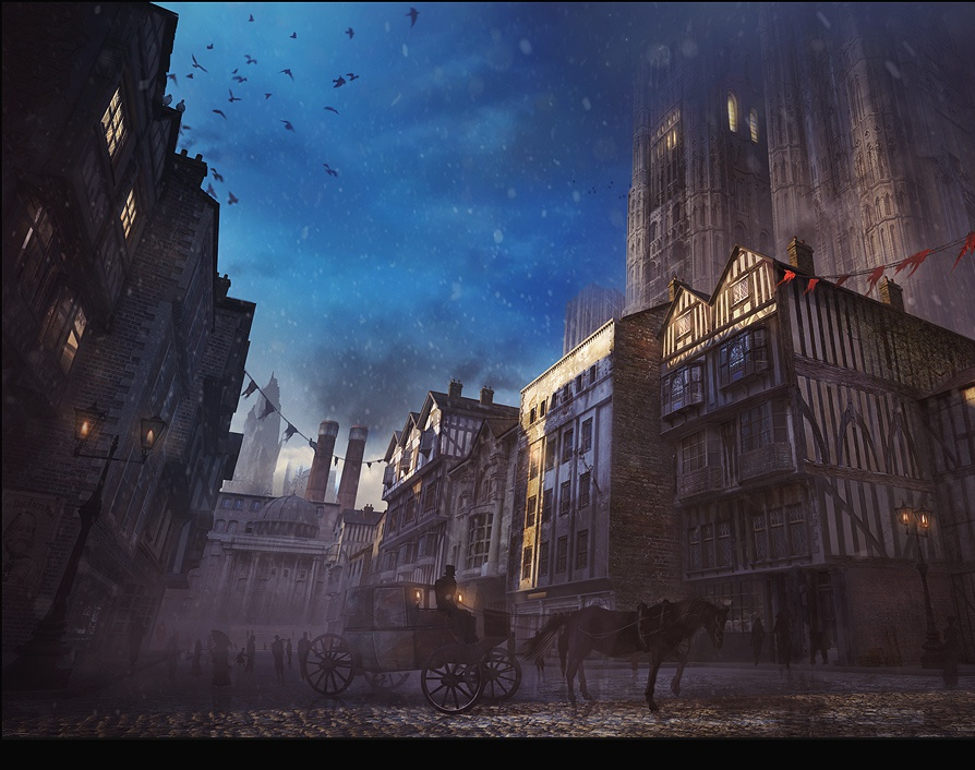 Victorian Street Conceptby Andy Walsh