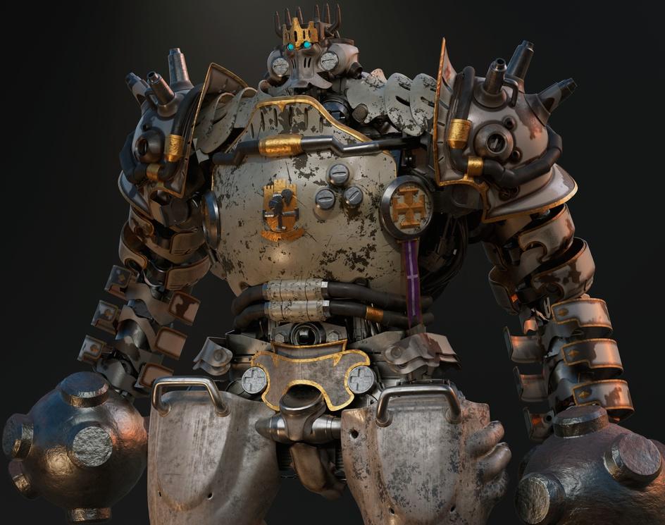 Steam Knight Lamorakby Franky Savant