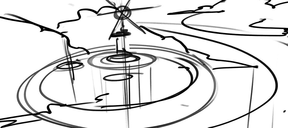 rough sketching digital