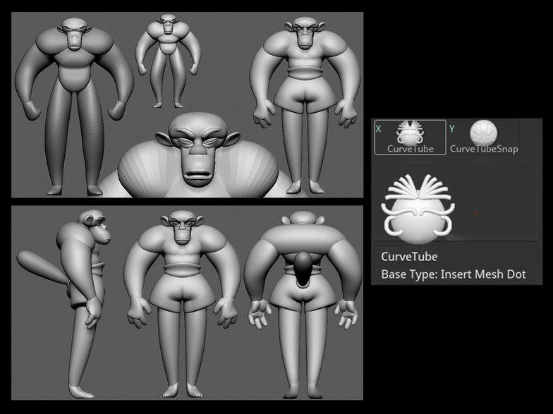 cleaning base design structure modelling 3d render monkey