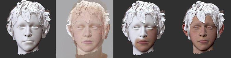 wirt OTGW skin texture 3d model