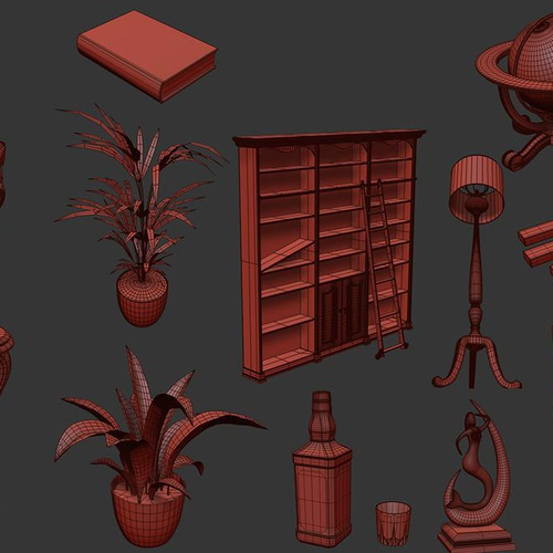 Excellent Create A Historical Interior With 3Ds Max Substance Download Free Architecture Designs Scobabritishbridgeorg