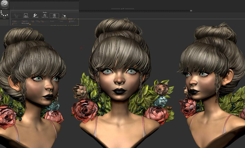 loish inspired 3d modelling
