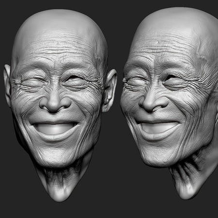 Sculpting an old man in ZBrush · 3dtotal · Learn | Create
