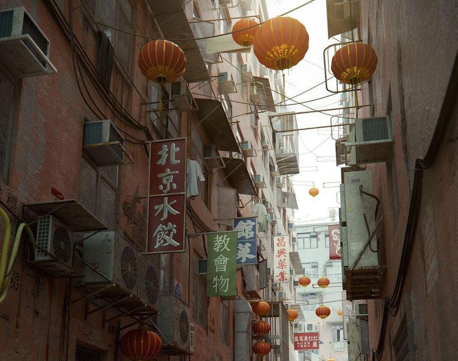 Kowloon Alleyby Linden Stirk