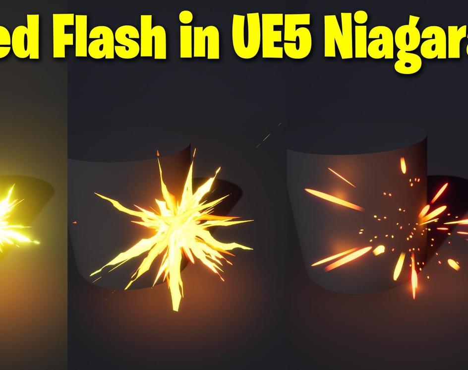 Stylized Flash in UE5 Niagara Tutorial | Download Filesby Ashif Ali