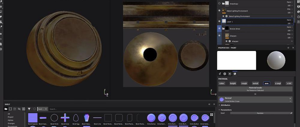 What's New in Substance Painter 2018 3 · 3dtotal · Learn | Create