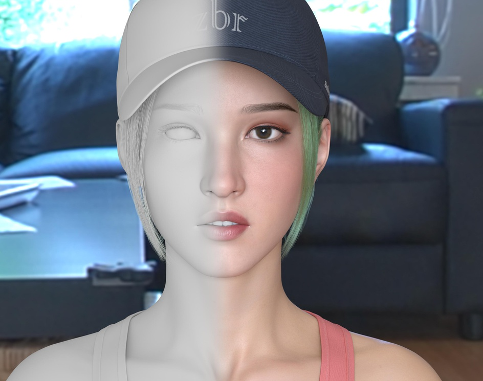girl named Sunnyby Zhubaorui