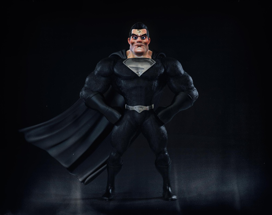 Superman's Black Suitby Christiano Pires