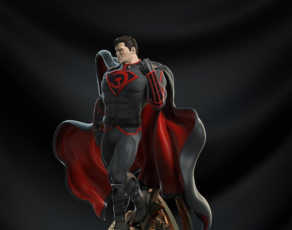 Superman Red Sonby Anderson Lovato
