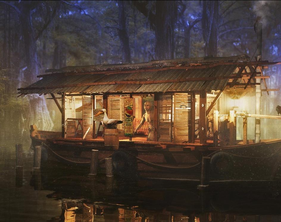 Swamp Boatby rschlenker
