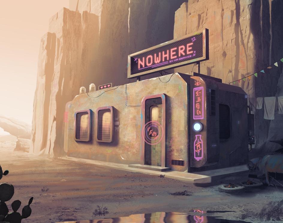 Nowhere Stationby Randi Sánchez Verduga