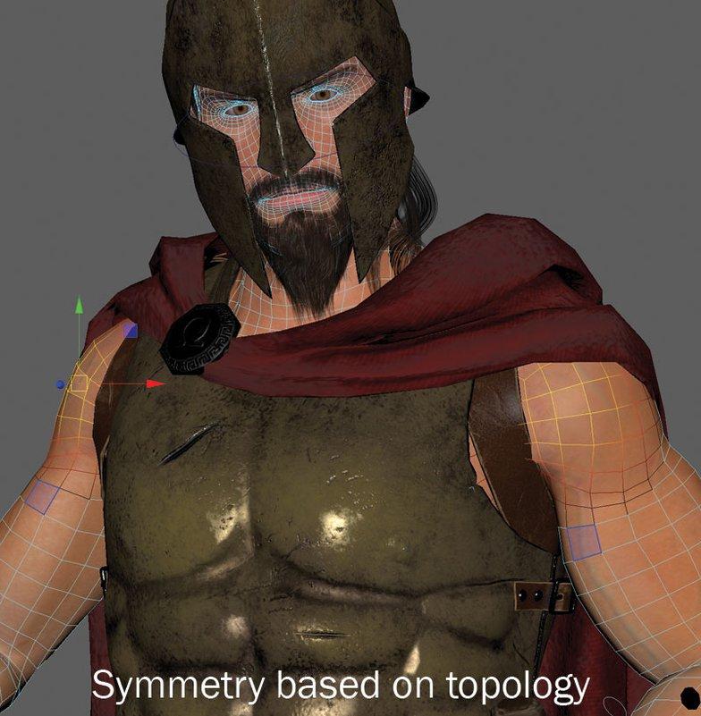 symmetry modeling, maya, tutorial, melvin, characters