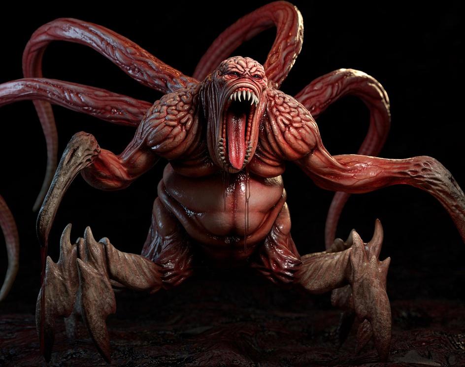 Demon Gluttonyby S M Bonin
