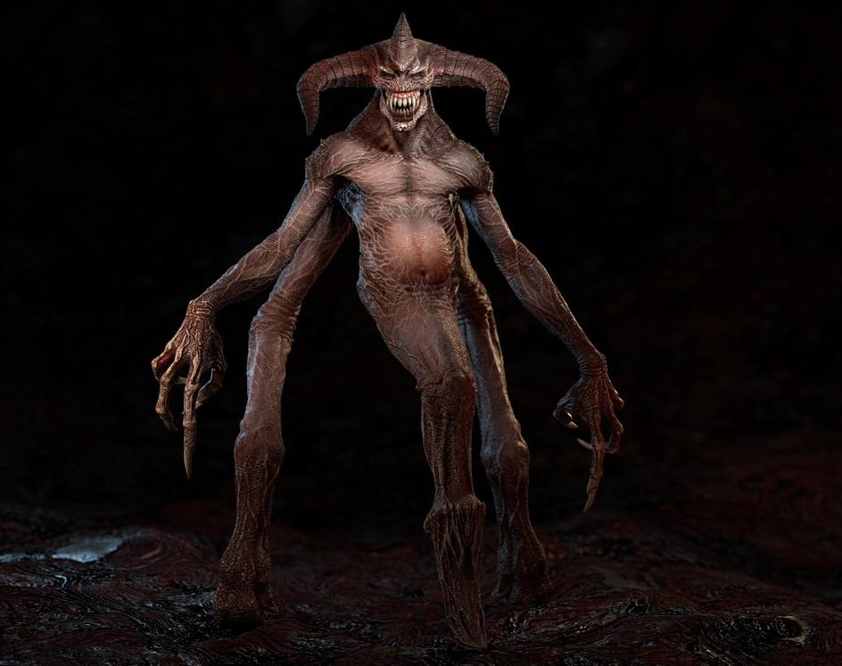Demon Slothby S M Bonin