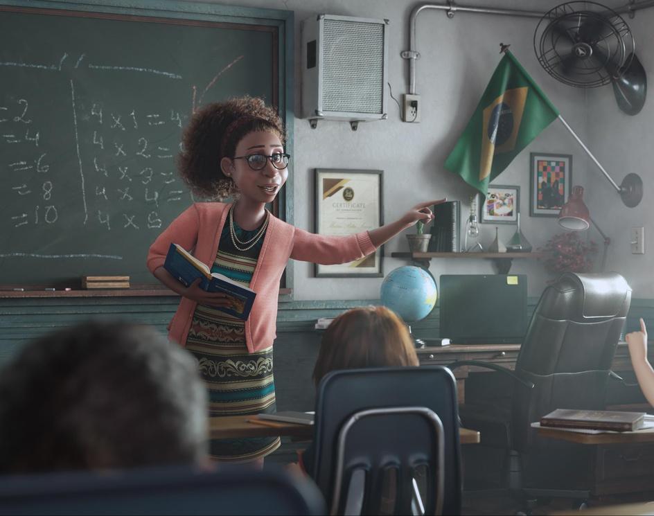 The Classroomby Cristiano Porfirio