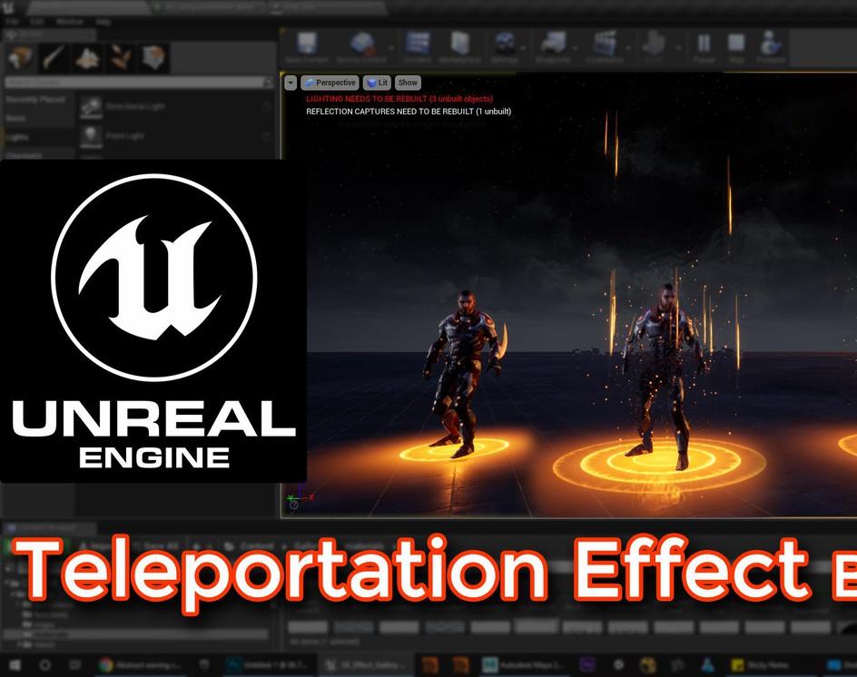 Unreal Engine | Teleportation Effect Breakdownby Ashif Ali