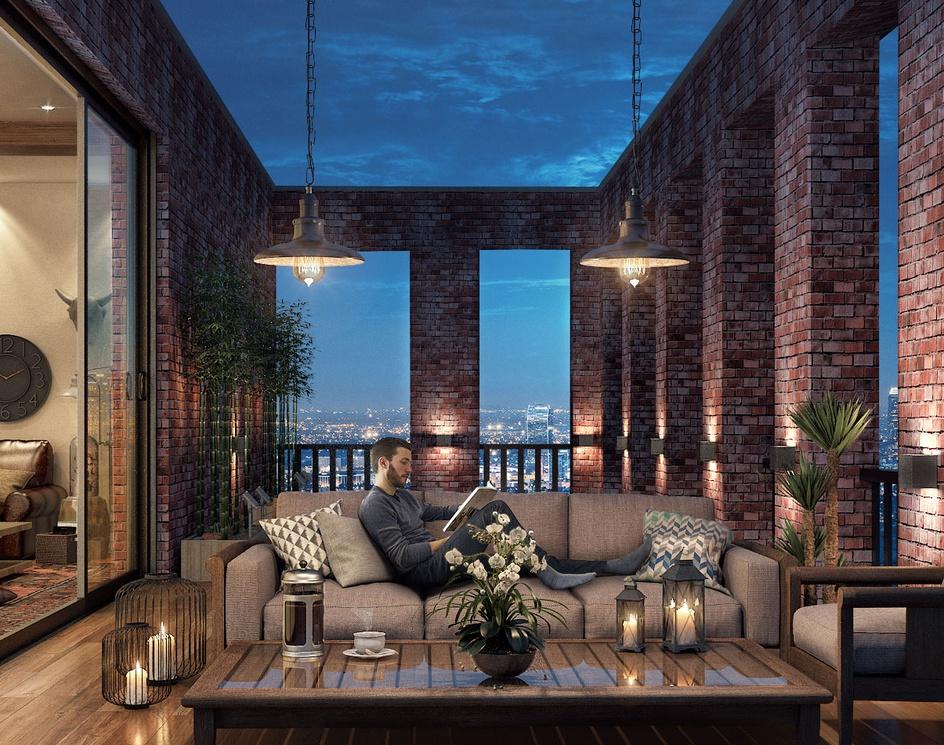 Terrace Nightby Designing Vogue