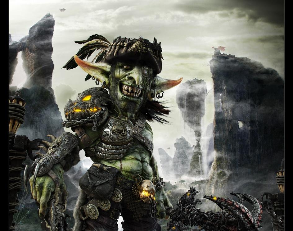 GOR - The goblin pirateby tes
