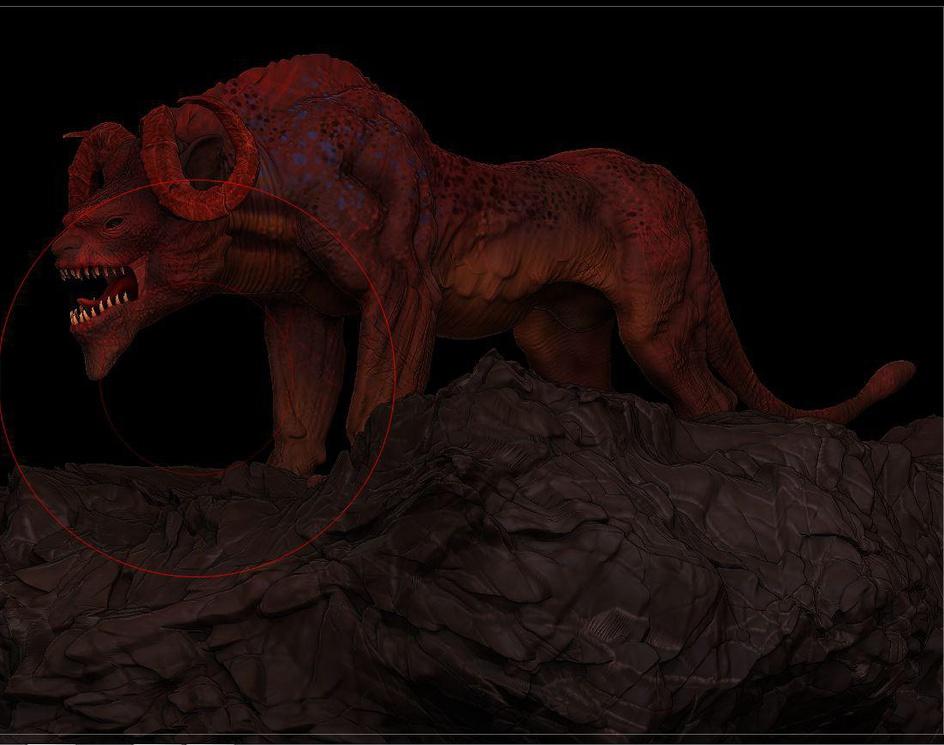 creature 3Dby sunilkumar