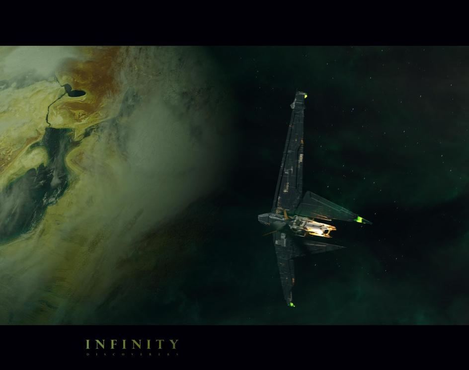 Planet 7. Infinity. Discoverersby Erich Zibert