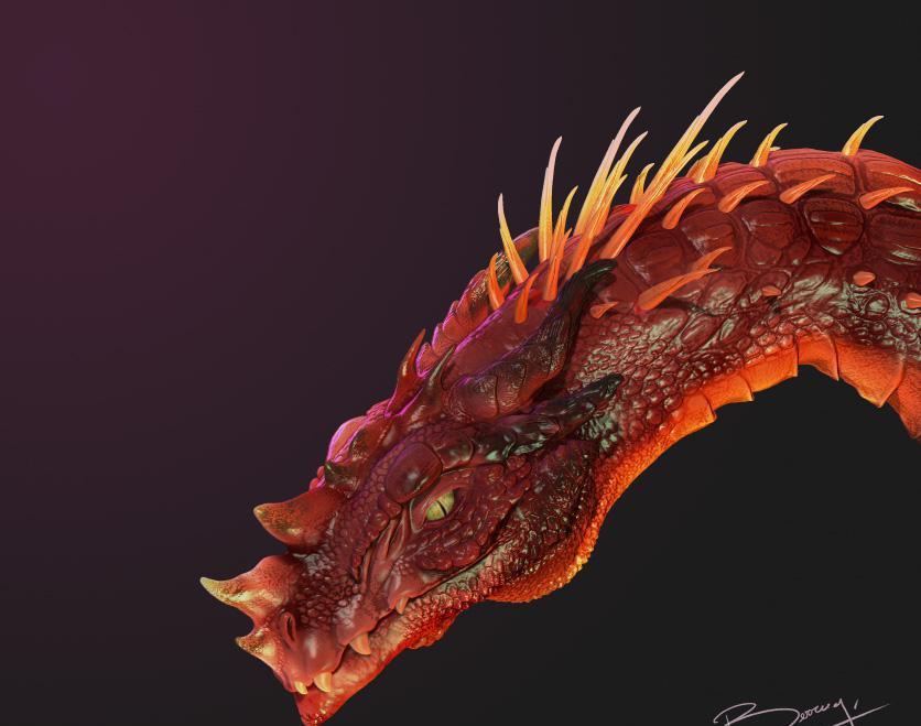 Dragon Headby Chiara Berrugi