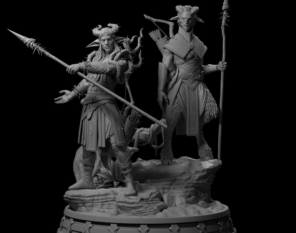 Sculpture - Thorn Lieutenantby Felipe Fontoura