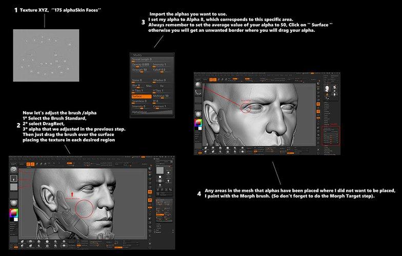 Cyberpunk 2077 3d male fanart texturing