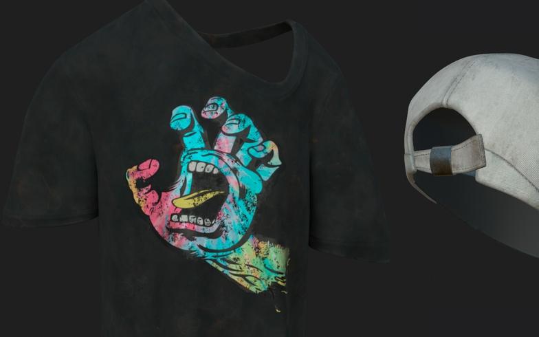 xgen modifier stack render clothes shirt texturing