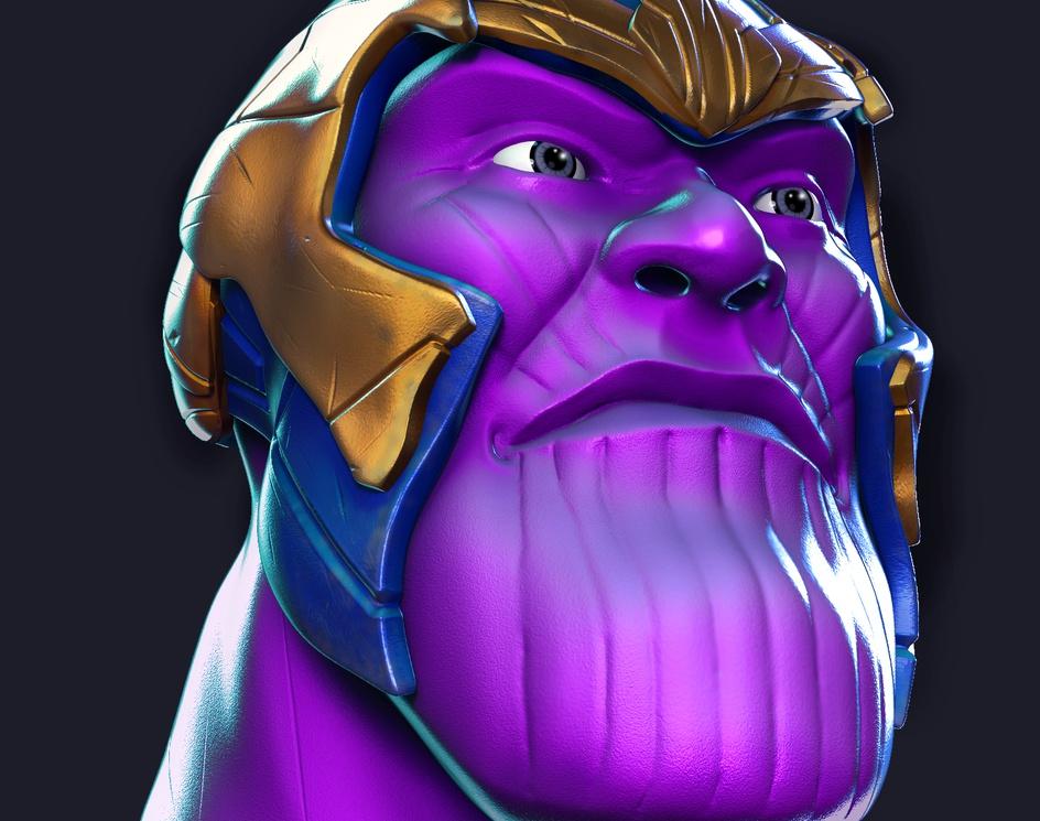 Thanos headby Rage Loop