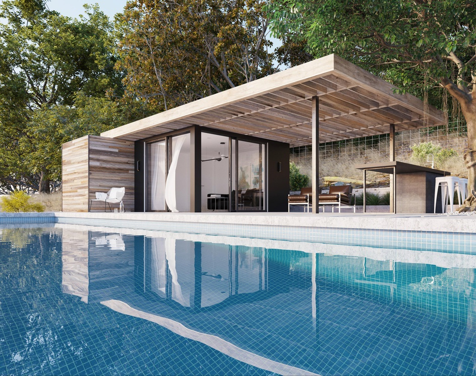 The Pool House | 3D Home Walkthrough Animationby DEER Design