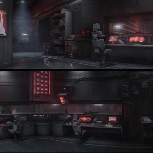 dark cinematic graphics modelling 3d wolfensteins youngblood