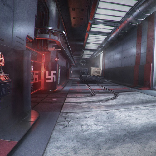 materials texturing colouring mapping modeling gaming wolfenstein