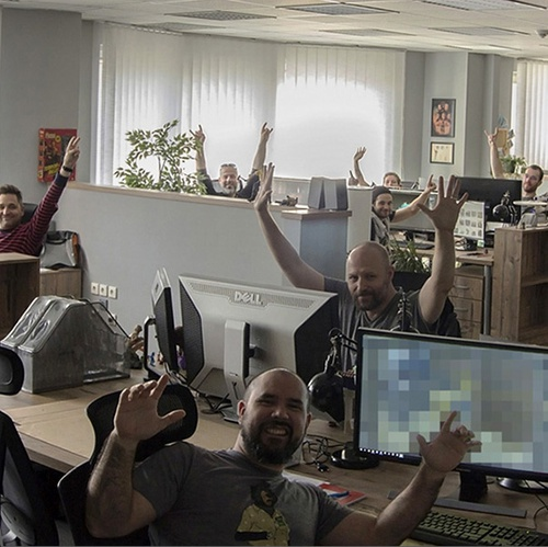 studio staff member photography treehouse ninjas