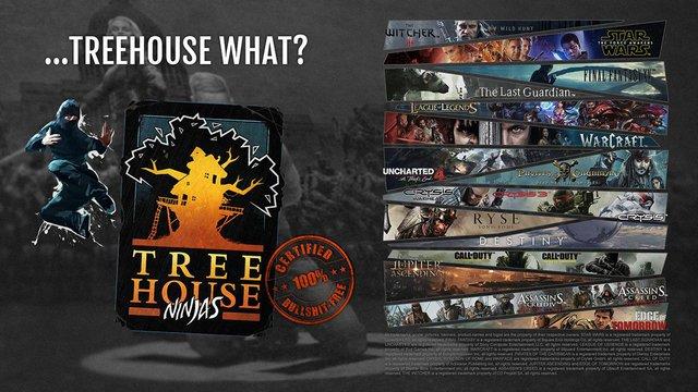Levi Gajados, Treehouse Ninjas