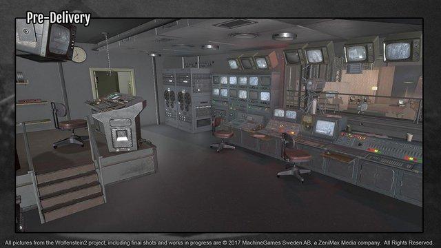 Levi Gajados, Treehouse Ninjas wolfenstein control room