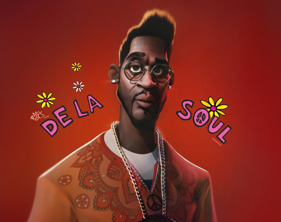 "DELASOUL, ""BackIn90s""by Thomas Rousvoal"