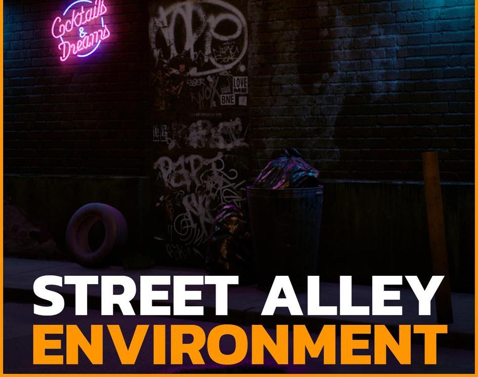 Street Alley Environmentby Marcos Brito Jr