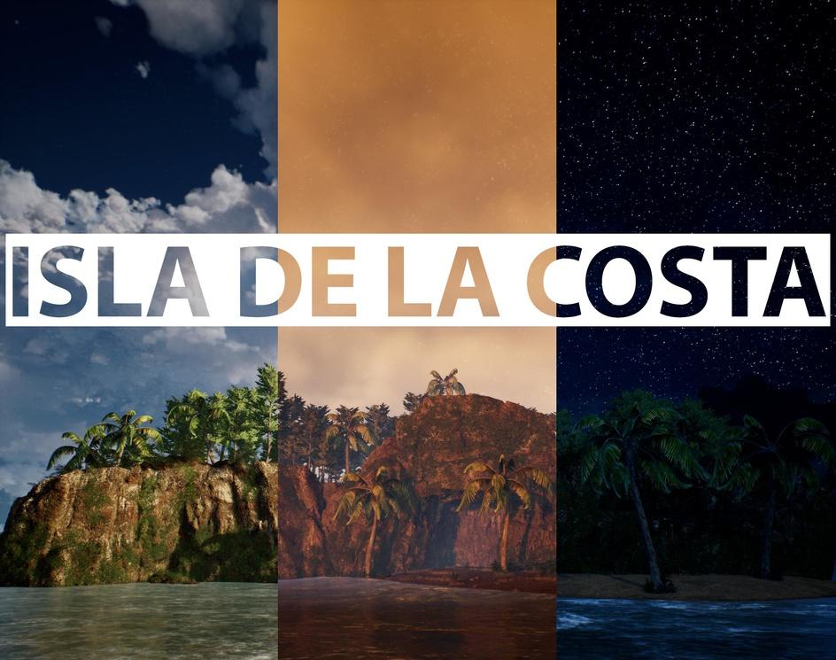 Isla de La Costa - Unreal Engine 4by PietroB