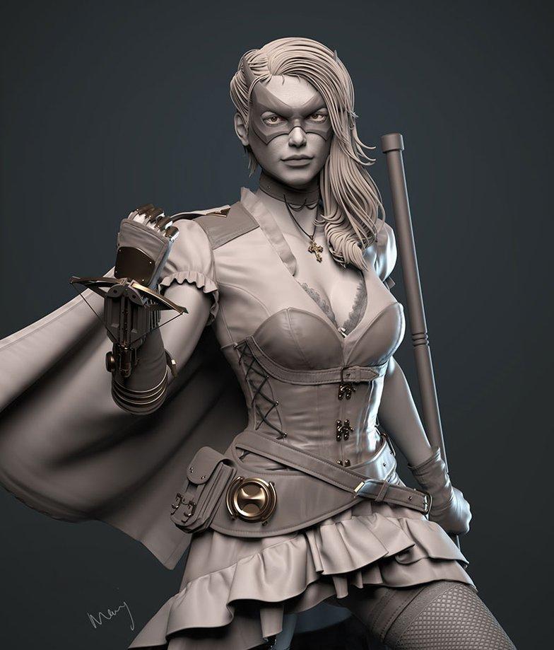 steampunk huntress