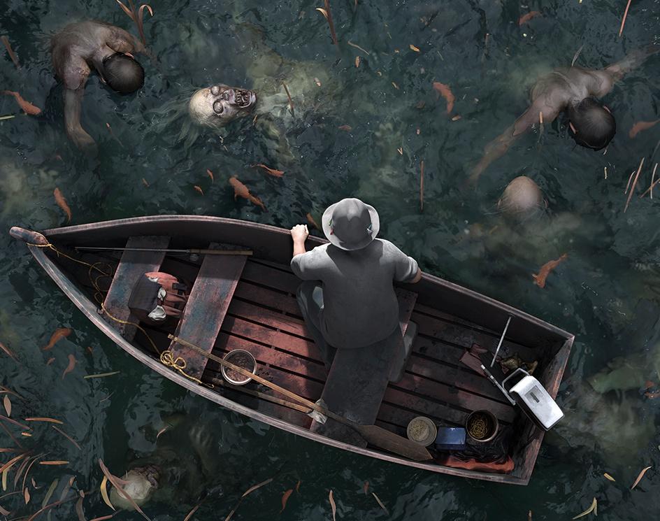 Dead Lake - Breakdownsby Nikhil Kedige