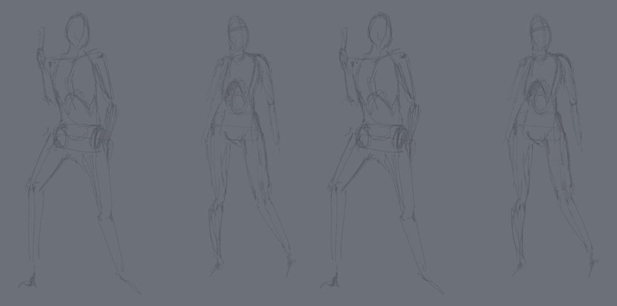 figure rough drafts