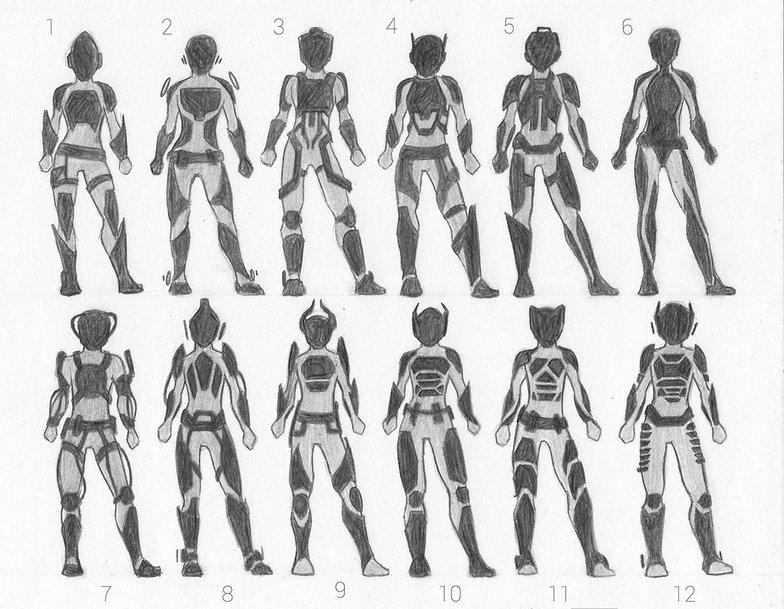 concept, sketch, spacesuit, suit, futuristic, thumbnail