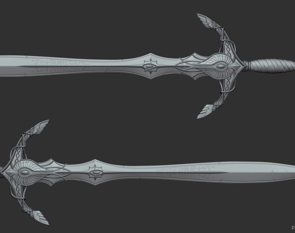 High Elven great swordby tim paauwe