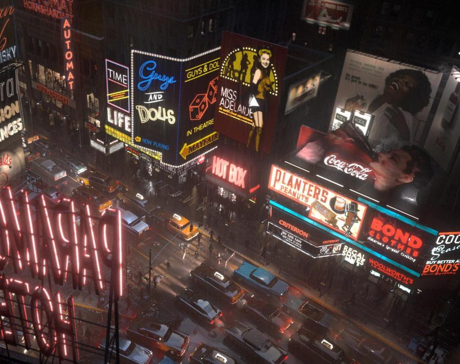 Times Squareby Miłosz Cieślikowski-Ryczko