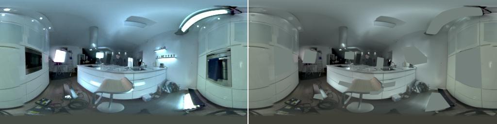 hdr graded lighting removed environment model